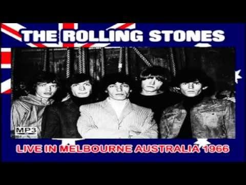 ROLLING STONES -LIVE IN MELBOURNE AUSTRALIA 1966- W/BRIAN JONES 4 SONGS