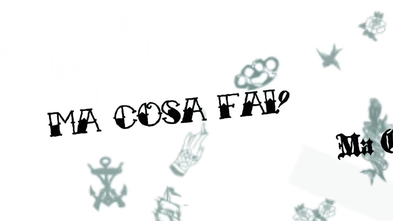 Feder - Cosa Fai (Official Lyric Video)