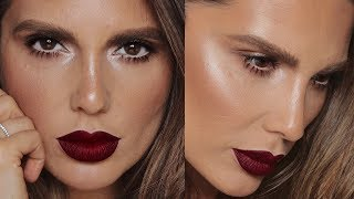 HOW TO: SIMPLE & SEXY EYES & BOLD LIPS | MAKEUP TUTORIAL |  ALI ANDREEA GOOD