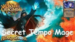 Hearthstone: Secret Tempo Mage #5: Kobolds & Catacumbas (Kobolds and Catacombs) 2017