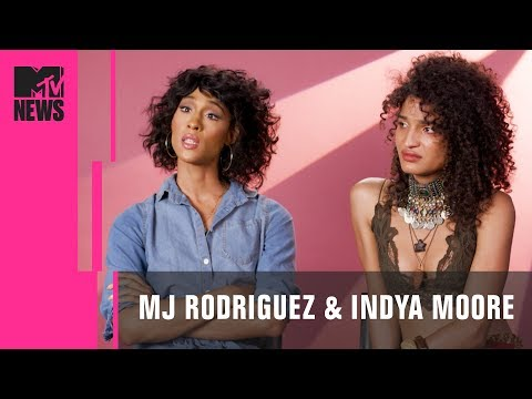 'Pose' Stars MJ Rodriguez & Indya Moore on Cis Actors Portraying ...