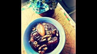 Варенье из слив с орехами, имбирем и корицей