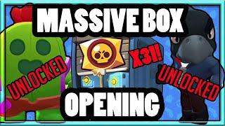 Brawl Stars MASSIVE BIG BOX OPENING Unlocking Legendary SPIKE and CROW Shooting For Tara Super Rare