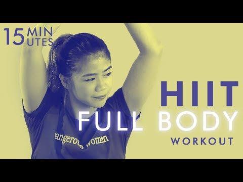 Gerakan 15 Menit HIIT Workout Untuk Seluruh Tubuh   Olahraga Di Rumah