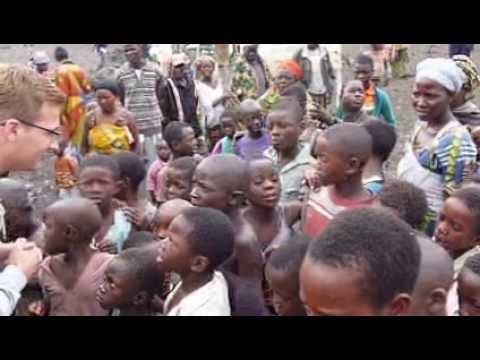 Congo, African kids learn russian