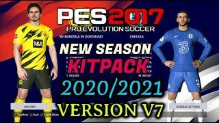 PES 2017 | NEW KITPACK 2020/2021 | UNOFFICIAL V7 |