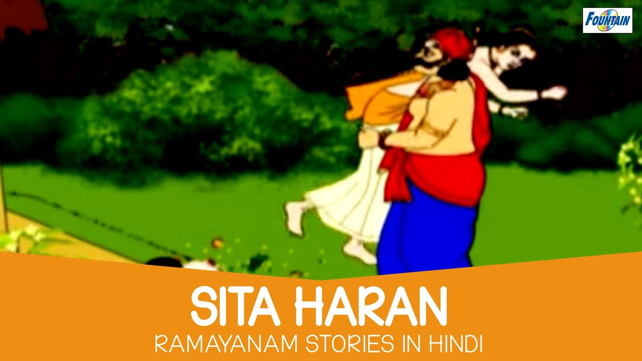 Sita Haran In Ramayan Hindi Ramayana Story For Kids Hindi Story For Children With Moral