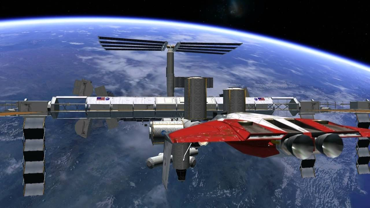 Soyuz 7K in Orbiter SpaceFlight Simulator