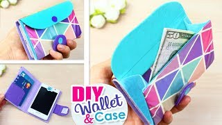 DIY PHONE CASE WALLET // Flip Phone Case Tutorial with Cam Hole You Can Do