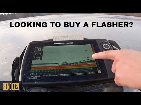 Looking To Buy A Flasher For Ice Fishing? Watch This First!
