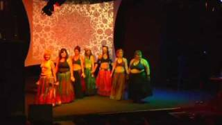 Red Sand Tribal Performing At Elevation 2010