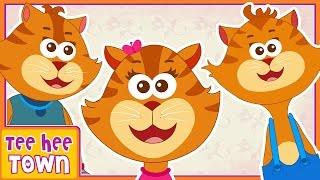 Three Little Kittens   Nursery Rhymes For Children   Kids Songs by Teehee Town