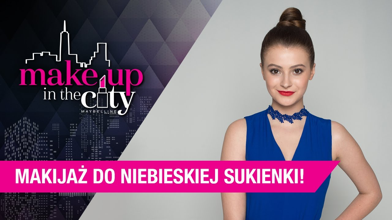 Makijaż Do Granatowej Sukienki Makeuptip Make Up In The City