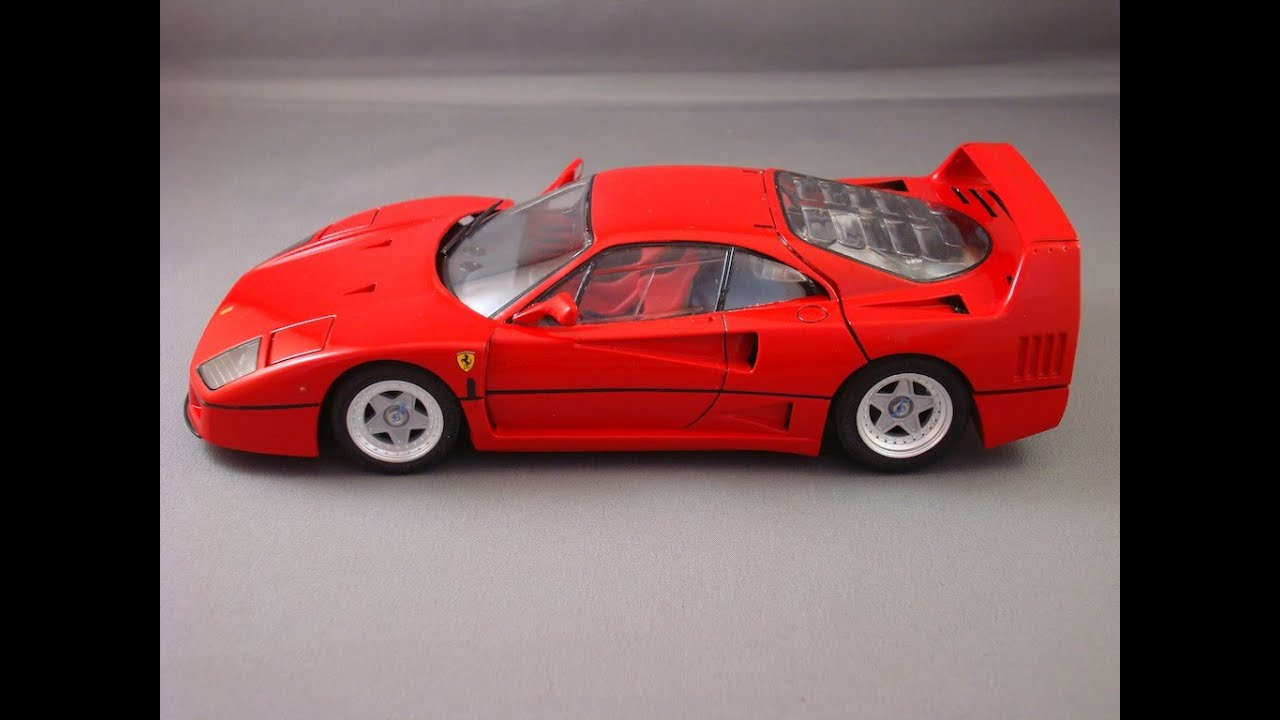 Tamiya Ferrari F40 Update 2 And Completion Youtube