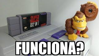 Cartucho Multijogos 102 in 1 de Super Nintendo Funciona?