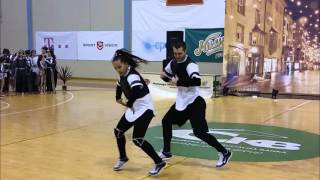 Milos Adzic - Nikolina Giljen / Winter National Cup 2015 / Hip Hop Duo Adults