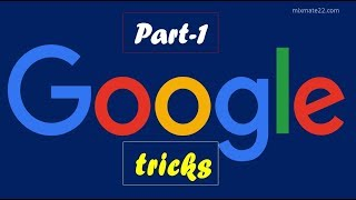 Top 5 most amazing Google tricks || part - 1