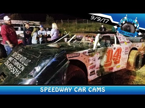 #14 Jerry Loudermilk - B-Hobby - 9-9-17 Fort Payne Motor Speedway - In Car Camera