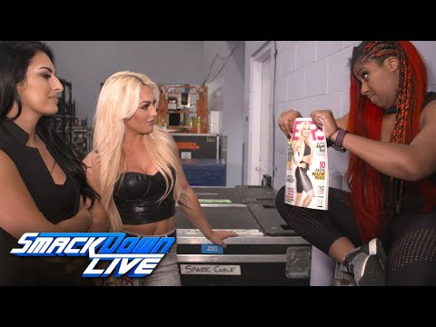 """Ember rips Mandy's """"Muscle & Fitness HERS"""" cover: SmackDown Exclusive June 4, 2019"""