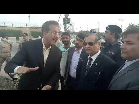 MQM Mayor Discussed Chief Justice.