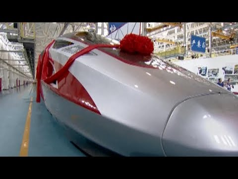 China-standard bullet trains get official names, will start operations on Monday