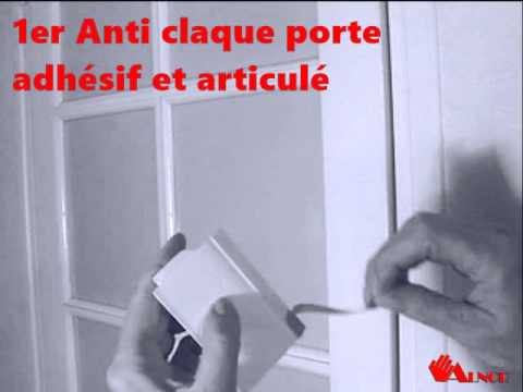 anti claque porte de fabrication fran aise alnor sas youtube. Black Bedroom Furniture Sets. Home Design Ideas