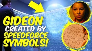 Gideon Created By Speed Force Symbols! The Flash Season 5! Lets Talk!