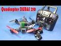 Hướng Dẫn Ráp Quadcopter Dubai 210 NO FPV