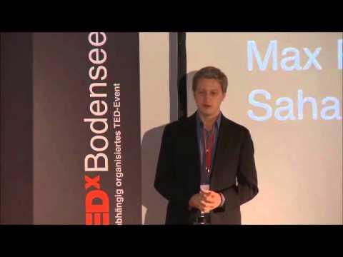 TEDx Bodensee Sahay Solar Max Pohl und Guluma Megersa