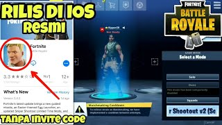 FINALLY RELEASE IN IOS FORTNITE MOBILE WITHOUT INVITE CODE