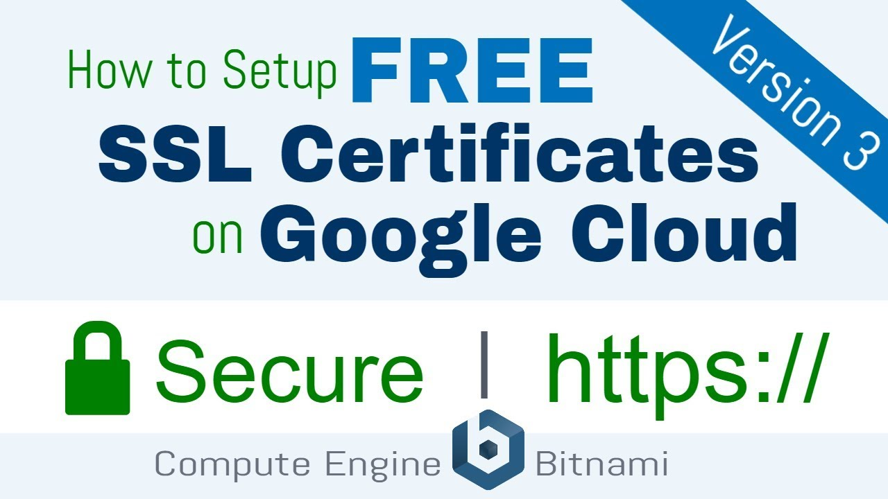 Free Ssl Certificate Setup For Wordpress On Google Cloud Bitnami