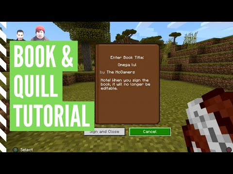 how-to-make-a-book-and-quill-in-minecraft