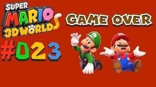SUPER MARIO 3D WORLD #023 Mario's Absturz ★ Let's Play Super Mario 3D World [Together/Deutsch]