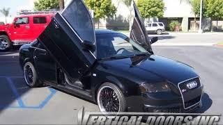 Audi RS6 2002-2004 4DR Vertical Lambo Door Kit VDCAUDIRS60204