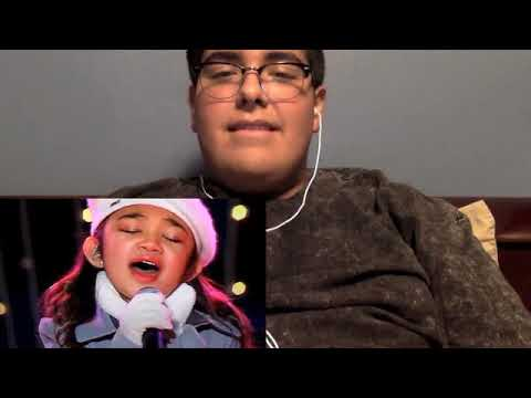 Reacting to Angelica Hale singing Holy Night