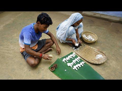 Durga Chatu KOFTA CURRY | Broken Wall Mushroom Kofta Curry Cooking My Grandmother
