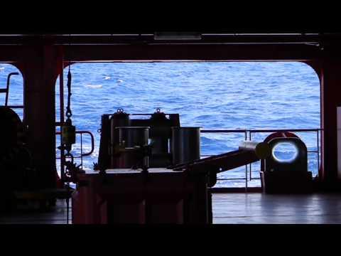 Rolling in calm seas