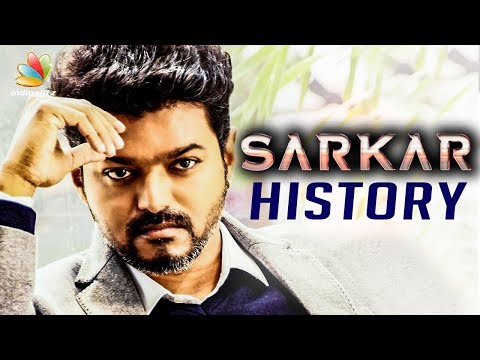 SARKAR History : Releasing in 80 Countries | Vijay's Thalapathy 62, A.R.Murugadoss