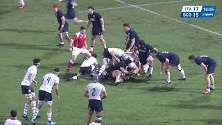 HIGHLIGHTS Italy U20 v Scotland U20