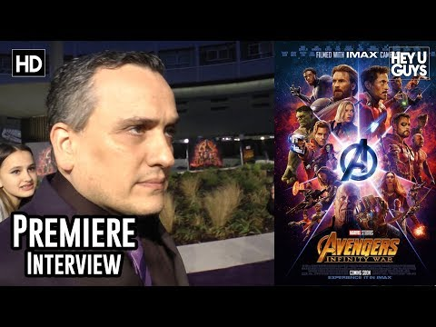 Director Joe Russo on the mammoth challenges of directing Avengers Infinity War - Premiere