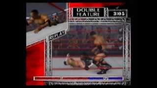 The Rock vs Test - WWF Raw (Xbox)