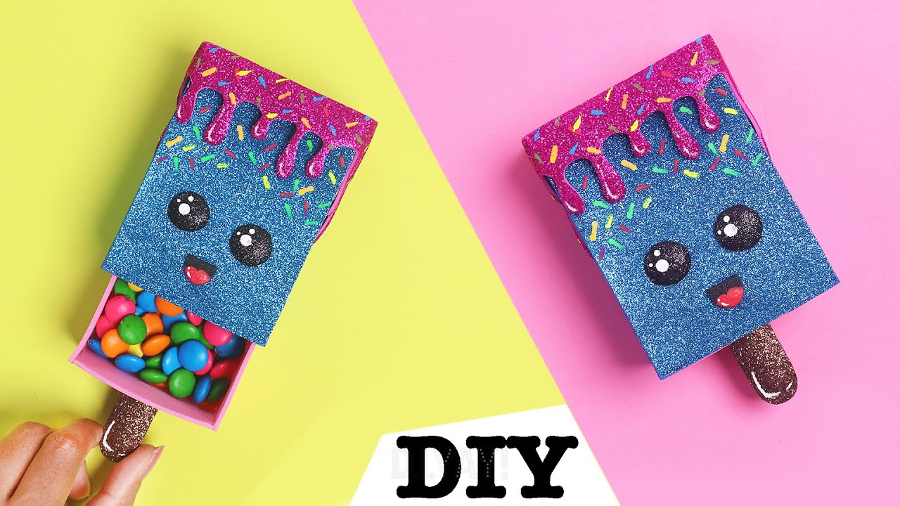 DIY Ice Cream Pouch | DIY GIFT POUCH | Gift Ideas | Pouch DIY