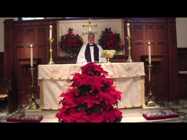 Christmas Day at Trinity Episcopal Church 2020