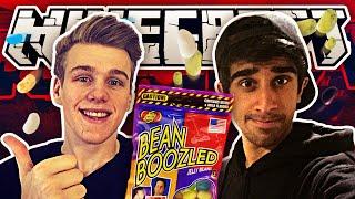 Minecraft Bean Boozled Challenge! w/Vikkstar123