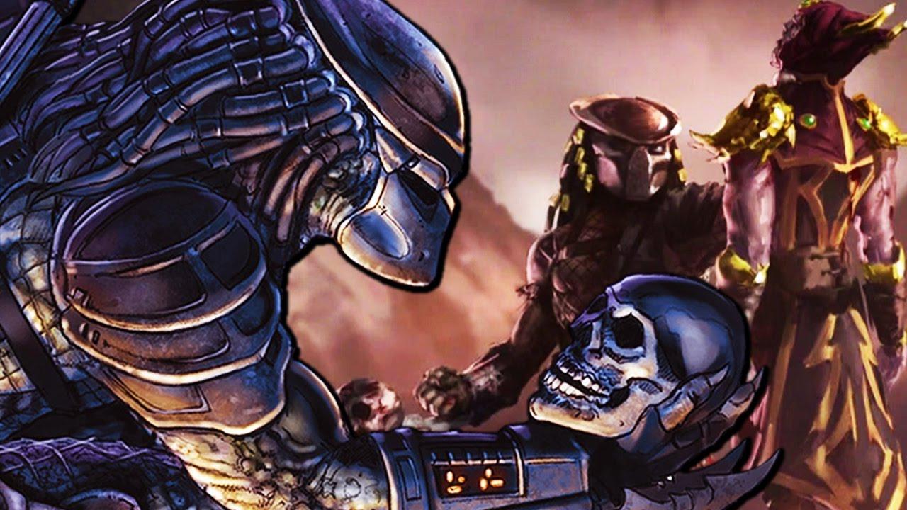 STORY MODE: Predator Mortal Kombat X MKXL Playthrough +