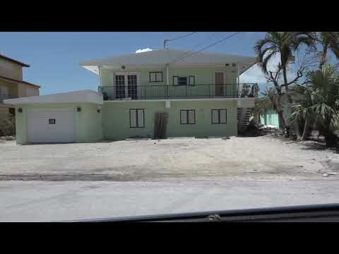 8th St. in Key Colony Beach, Florida Keys Post Hurricane Irma