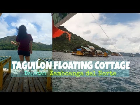TAGUILON FLOATING COTTAGE: Dapitan Zamboanga del Norte