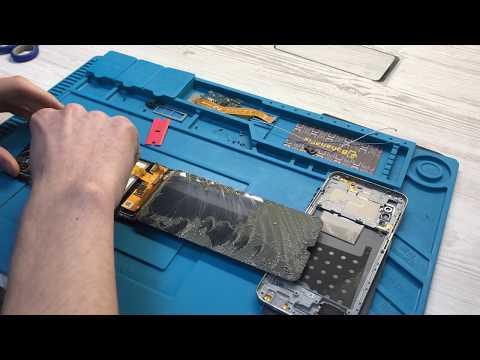 Ремонт Samsung A50 A505f: замена стекла дисплея - разборка - BananaFix