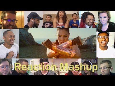 WONDER WOMAN  Official Origin Trailer #3 REACTION MASHUP