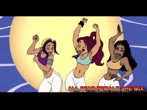 BRUNO MARS FT CARDI B, MISSY, LIL KIM, EVE, REMY MA & MORE - FINESSE(SHE-MIX VIDEO)